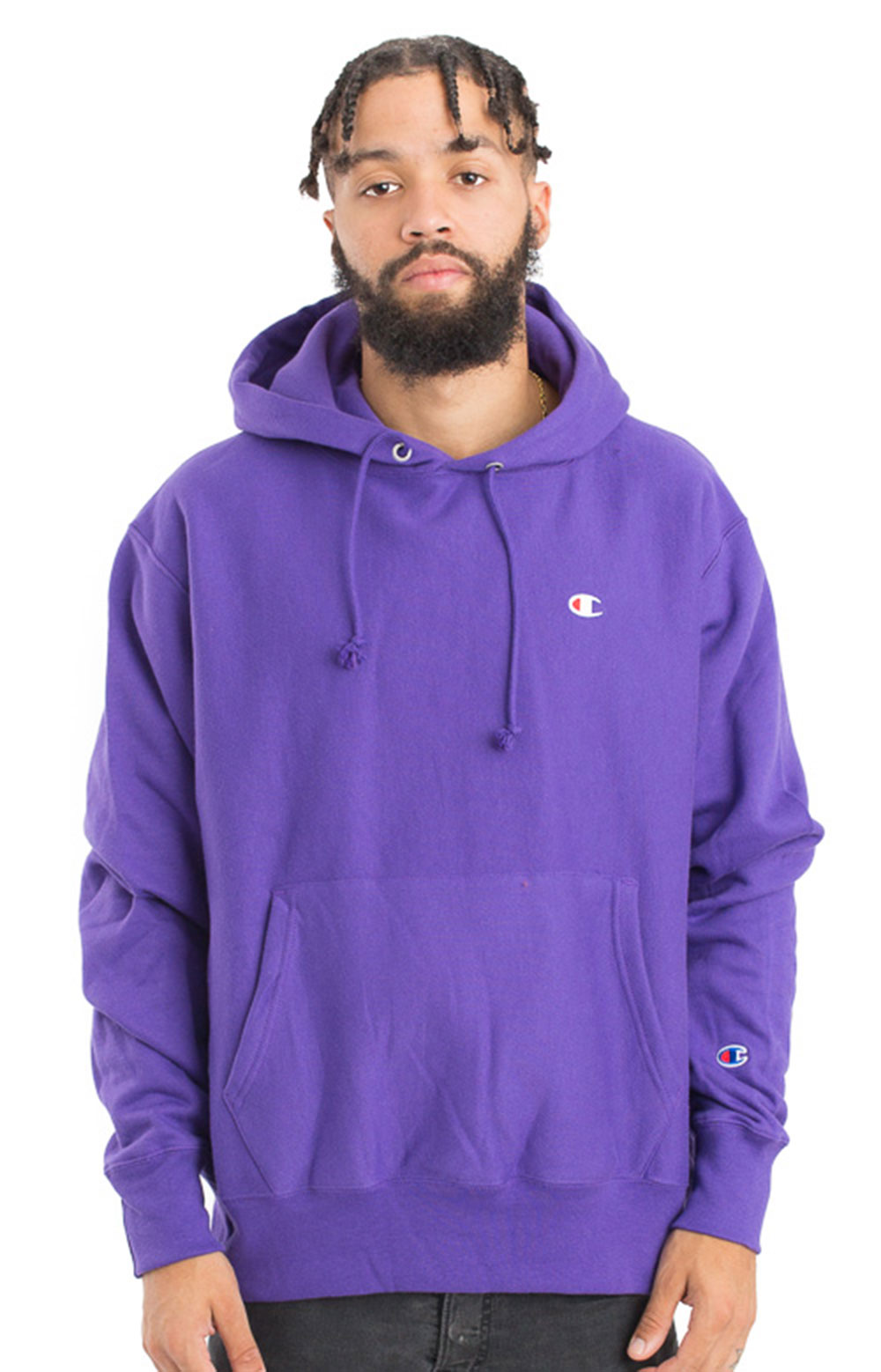Champion LIFE, Reverse Weave Pullover Hoodie - Purple