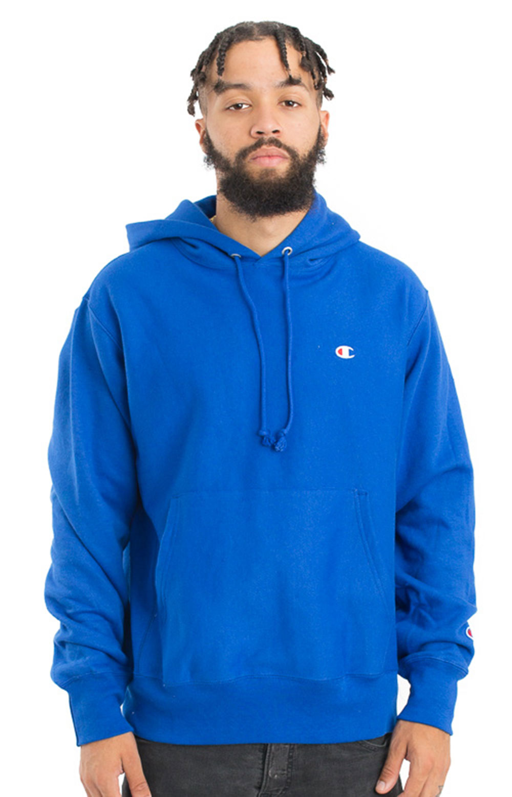 Reverse Weave Pullover Hoodie - Surf The Web