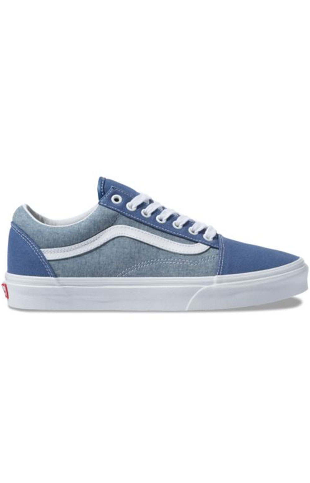 (8G1VIO) Chambray Old Skool Shoe - Canvas True Navy