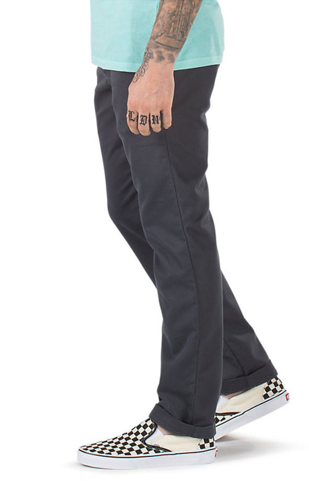 Authentic Chino Stretch Pants - Asphalt