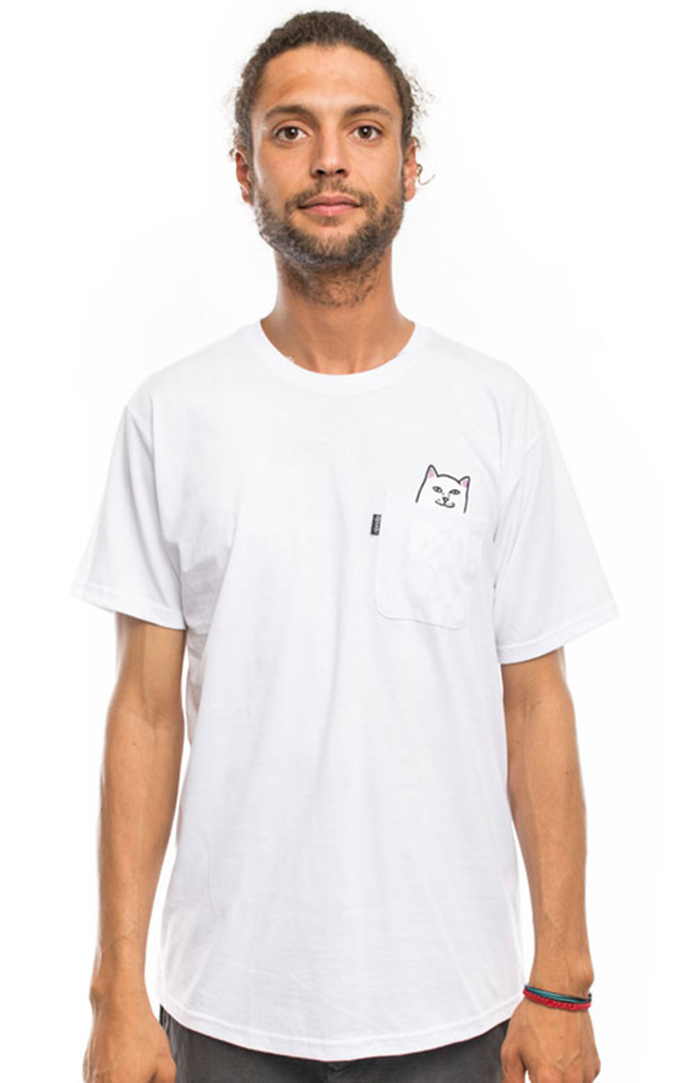 Lord Nermal Pocket T-Shirt - White