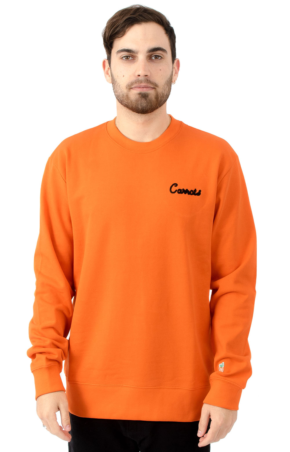 Cursive Crewneck - Orange