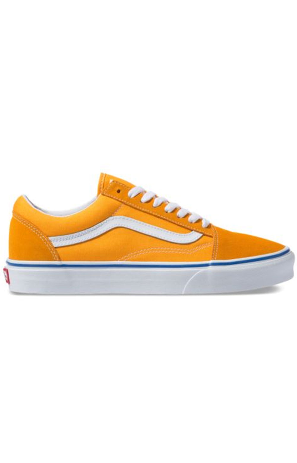 (8G1VRM1) Suede Canvas Old Skool Shoe - Zinnia/True White