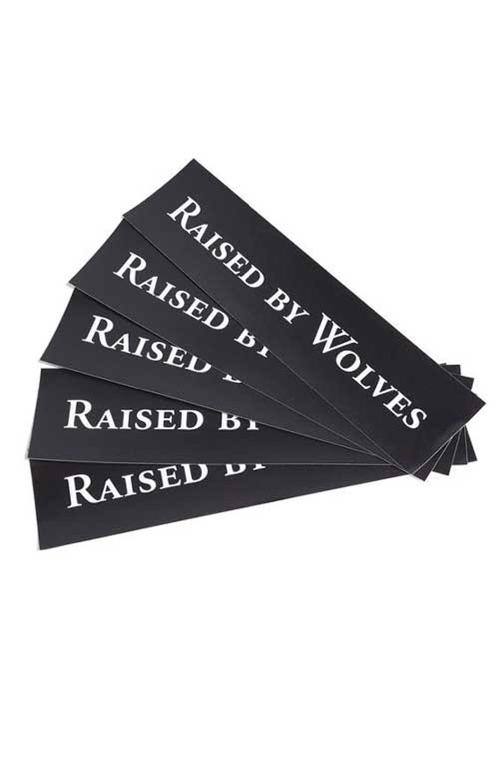 RBW Logotype Pack Of 5 Stickers - Black