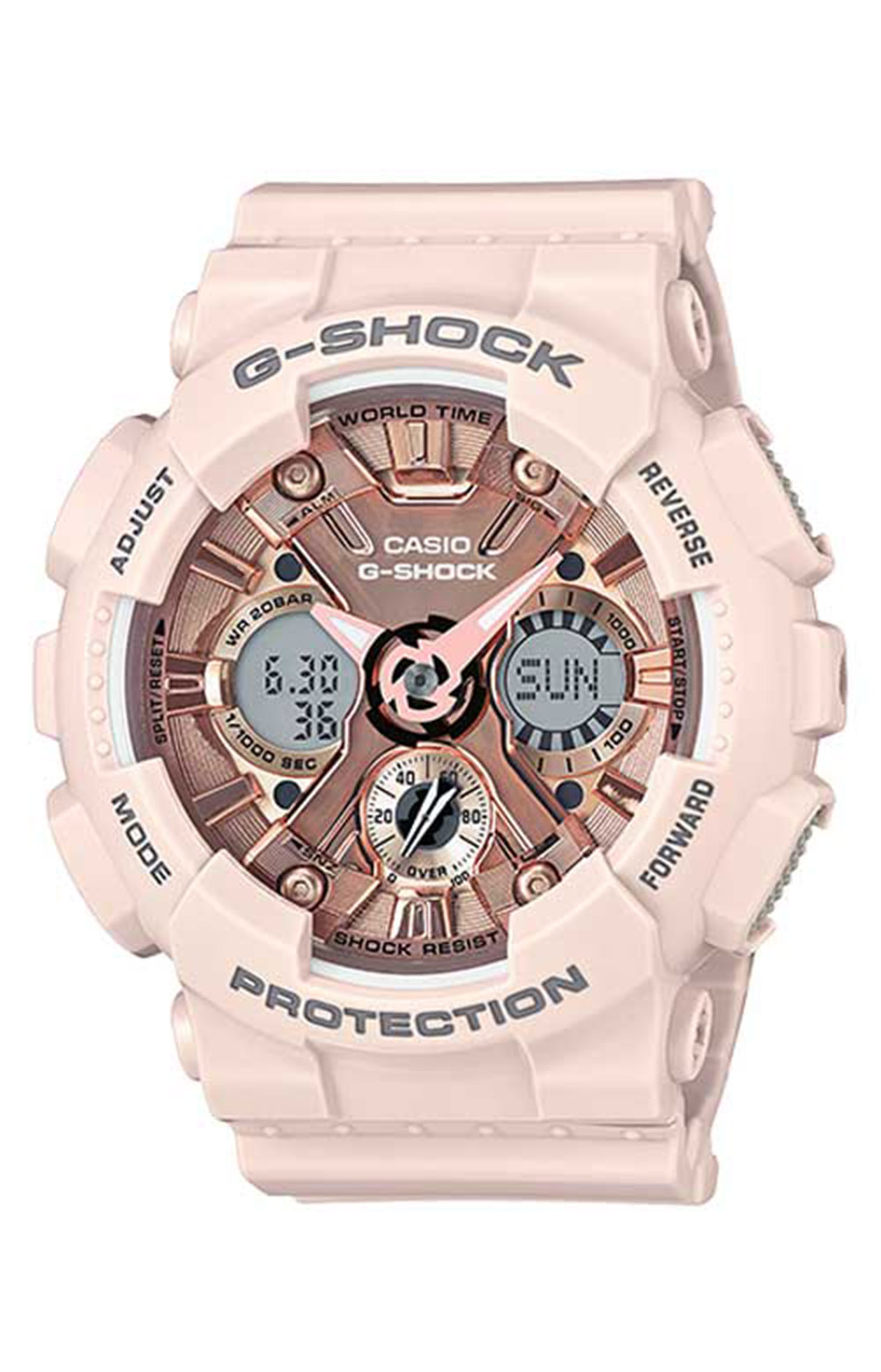 GMA-S120MF-4A S Series Watch - Pink