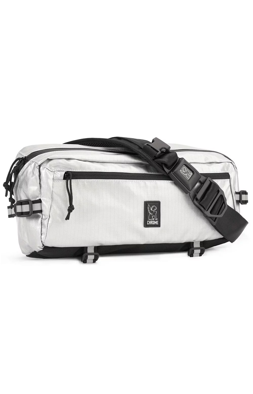Kadet Nylon Bag - Chrome/Aluminum