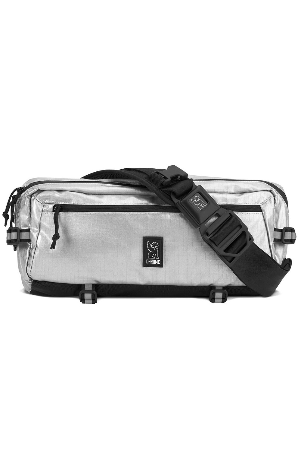 Kadet Nylon Bag - Chrome/Aluminum 2