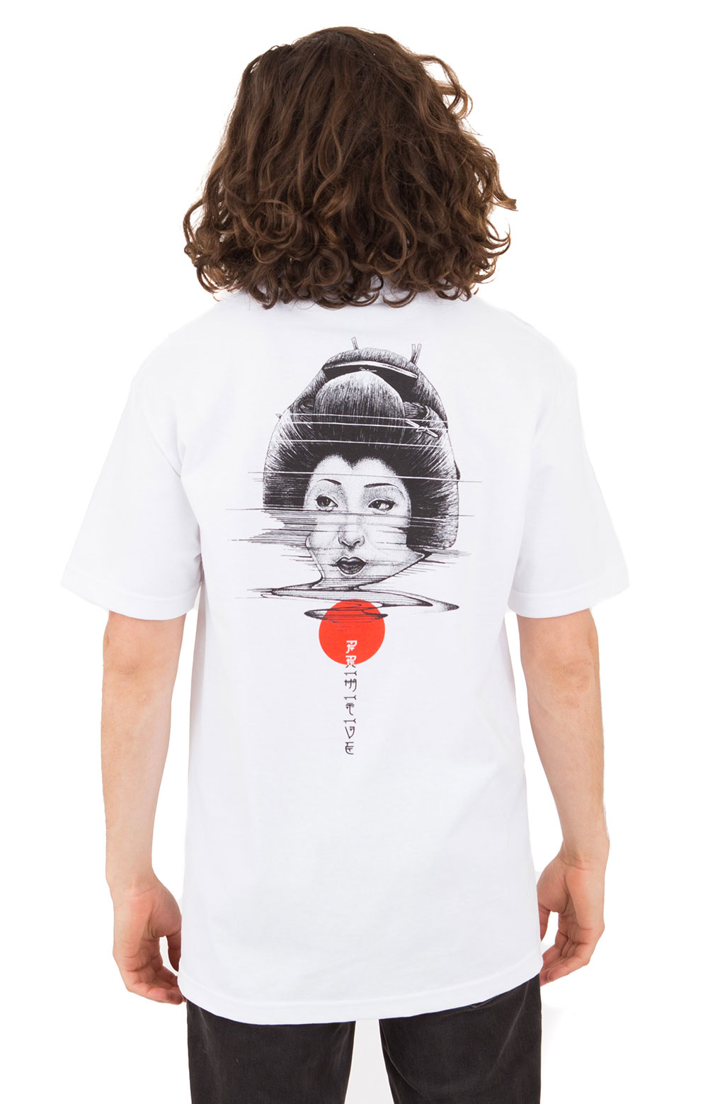 Geisha T-Shirt - White