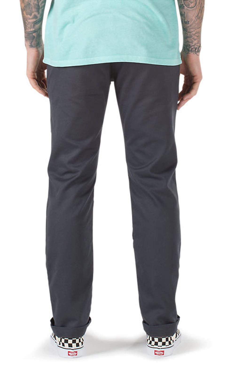 Authentic Chino Stretch Pants - Asphalt  2