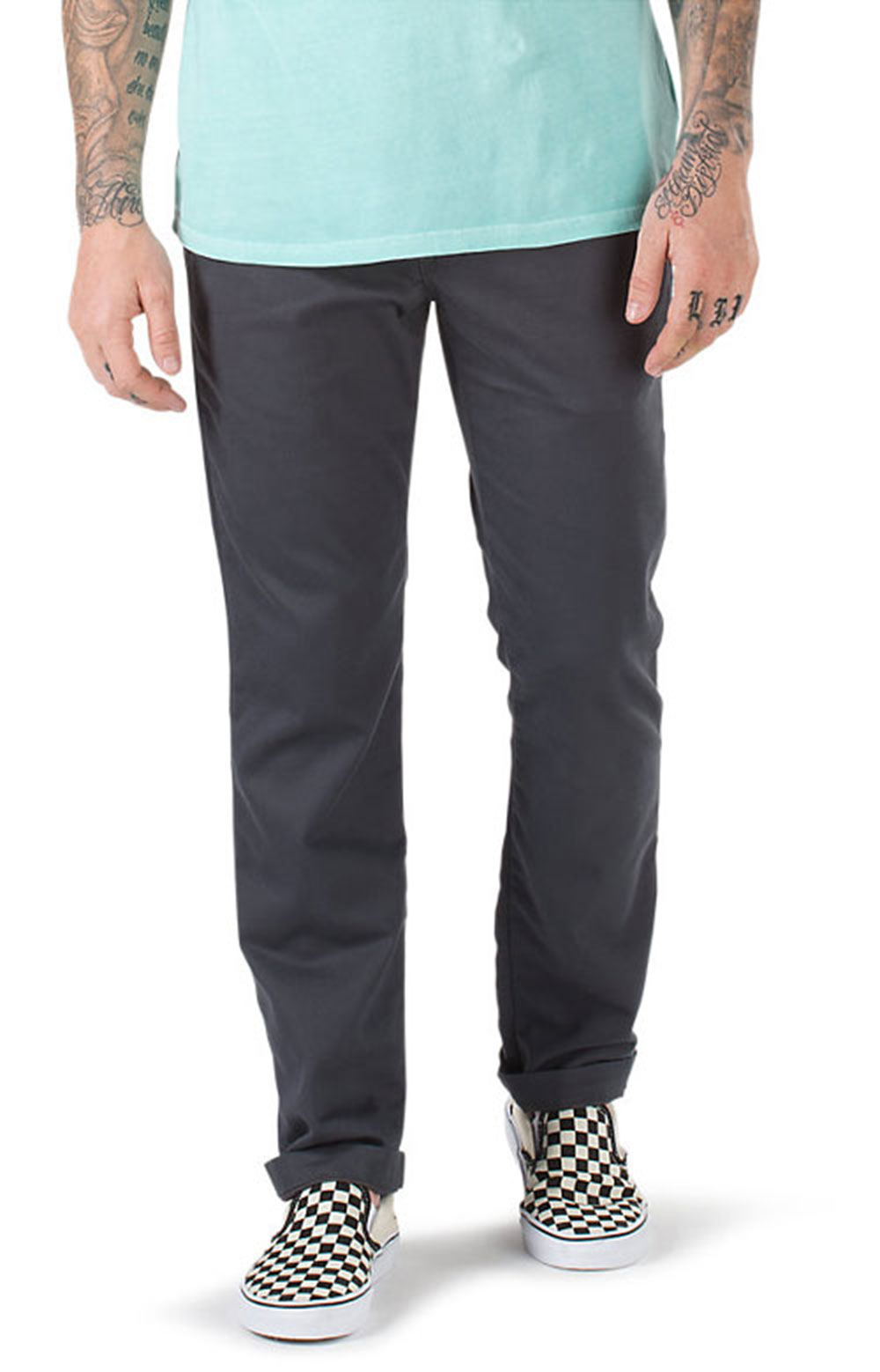 Authentic Chino Stretch Pants - Asphalt  3