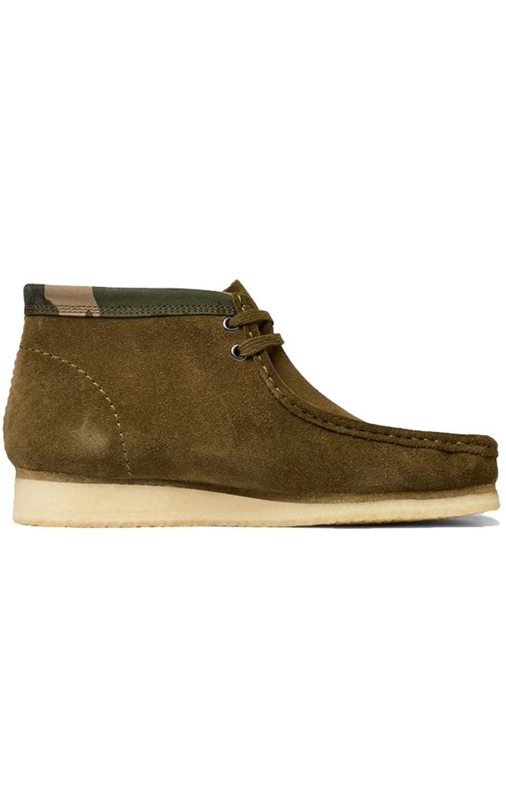 (26146168) Wallabee Boot - Olive Camo