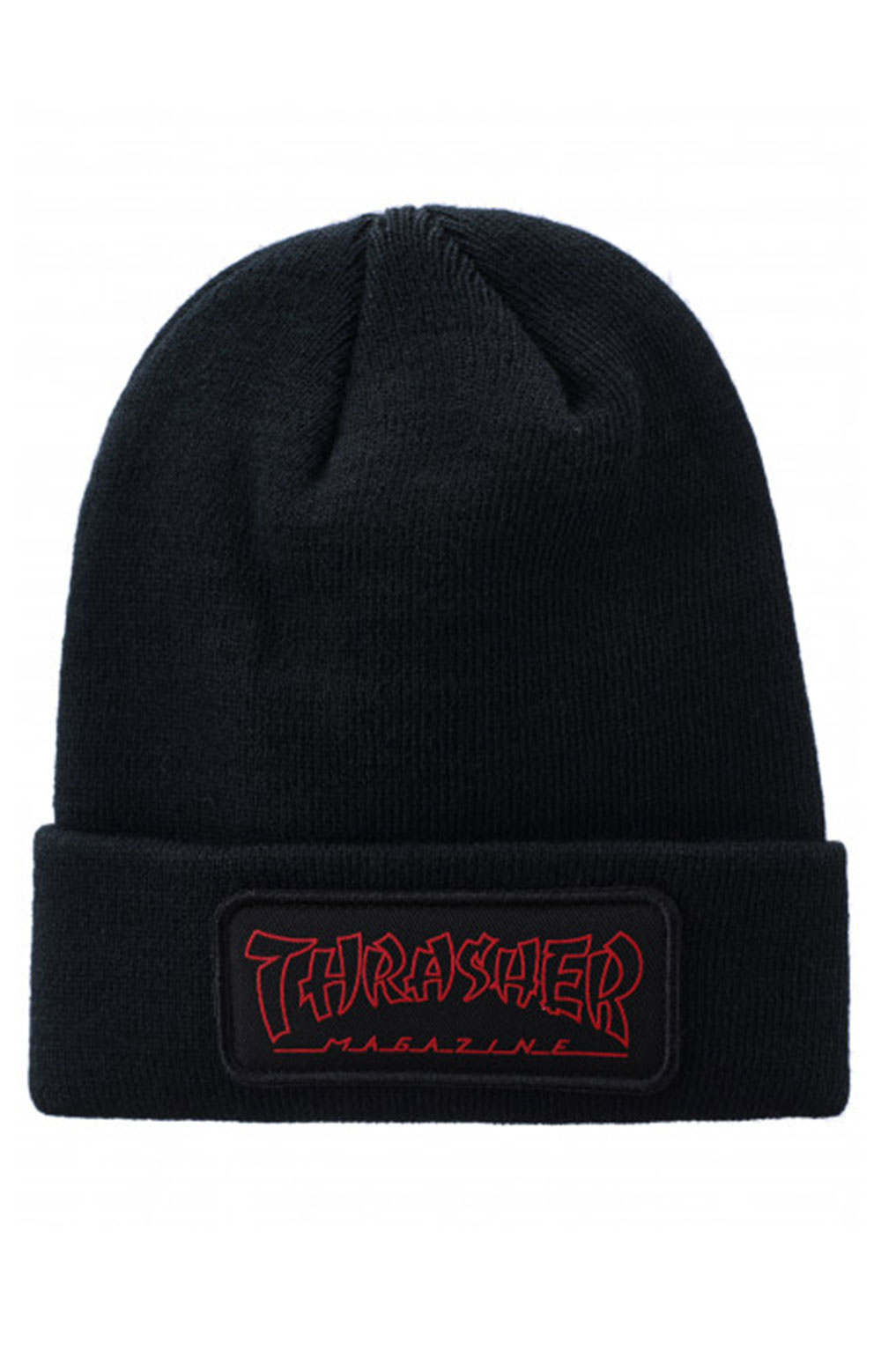 China Banks Patch Beanie - Black