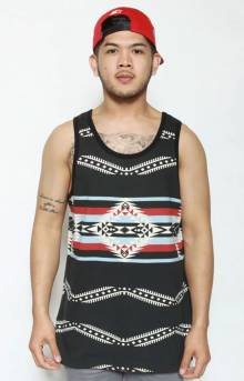 10 Nations Tank Top - Black