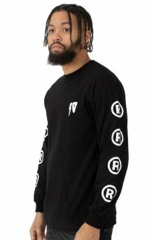 10 Strikes L/S Shirt - Black