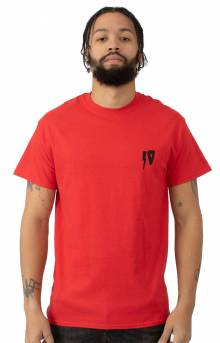 10 Strikes T-Shirt - Red