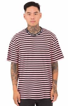 24 Hour Striped T-Shirt - Pink
