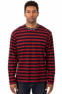 24HR Striped L/S Shirt - Red