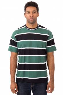 24HR Striped T-Shirt - Green
