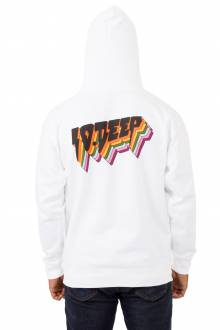 All The Lights Pullover Hoodie - White