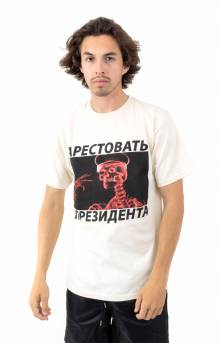 Arrest The Putnik T-Shirt - Natural