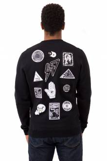 Bad Acid Crewneck - Black