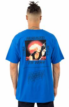 Beseiged From All Sides T-Shirt - Blue