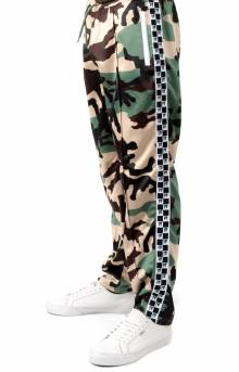 Checkered Flag Track Pant - New Woodland