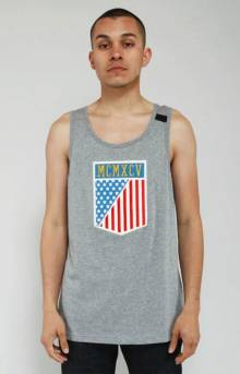 Clinton Field Jersey Tank Top - Grey