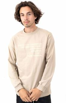 Collab L/S Shirt - Sand