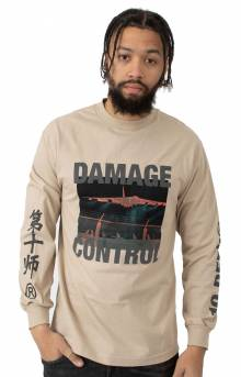Damage Control L/S Shirt - Tan
