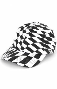 Distortion Dad Hat - White
