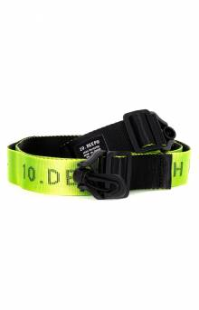 Division Strap Belt - Yellow