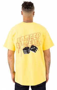 Don't Play Yourself T-Shirt - Yellow