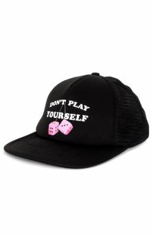 Don't Play Yourself Trucker Hat - Black