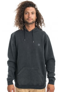 10 Deep Clothing, Dotted Pullover Hoodie - Black