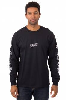 Dragon Kanji L/S Shirt - Black