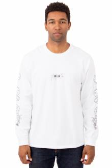 Dragon Kanji L/S Shirt - White