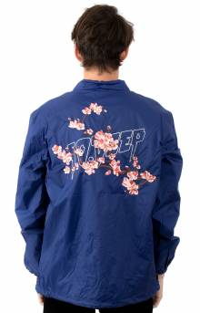 Dust To Dust Coach's Jacket - Blue
