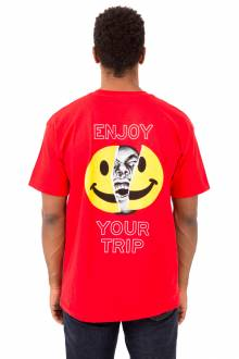 Enjoy Your Trip T-Shirt - Red