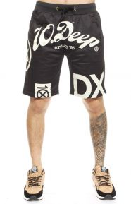 Full Clip Mesh Shorts - Black