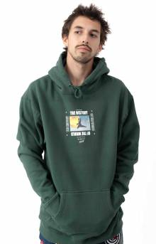 History Of The World Pullover Hoodie - Green