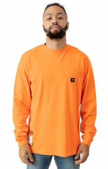Keep Back L/S Shirt - Neon Coral