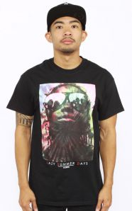 Lazy Summer Day T-Shirt - Black