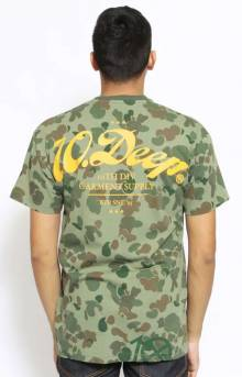Nightwork Camo T-Shirt - Green Pacific