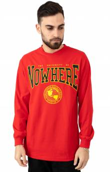 Nowhere L/S Shirt - Red