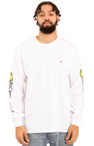 Poison Control L/S Shirt - White