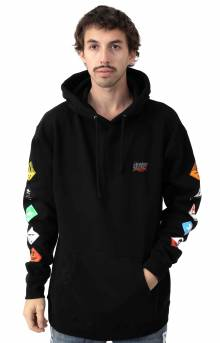 Prohibited Pullover Hoodie - Black