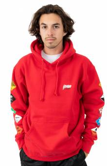 Prohibited Pullover Hoodie - Red