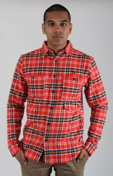 Rugged NW Flannel Button-Up Shirt