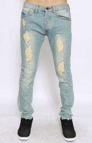 Slim Slim Denim Pants - Light Vintage